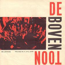 """DE BOVENTOON – Speelt 'Live' In Het BIM-Huis (RARE 1975 DUTCH JAZZ SINGLE 7"""")"""