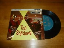 "THE SHADOWS - The Shadows - Original 1961 UK 4-track mono 7"" EP"