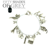 High Quality Fifty Charm Bracelet Freedom Shades of Grey 50 Sexy Gift UK Present