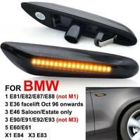LED Turn Signal Side Light Indicator Dynamic For BMW E90 E92 E60 E87 E82