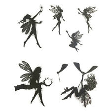 Angel Transparent Seal Clear Stamps Enchanted Garden Fairies Clear Rubber Stamp