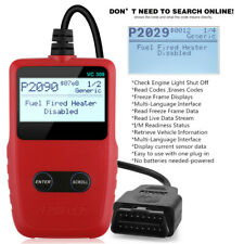 VC309 Code Reader OBD2 Scanner Car Check Engine Fault Automotive Diagnostic Tool