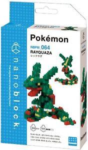 Nanoblock Rayquaza Building Kit 240 Pieces Pcs Nano Blocks Pokemon Kawada