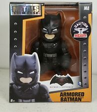 JADA DC COMICS BATMAN VS SUPERMAN ARMORED BATMAN METALS DIE CAST FIGURE M8