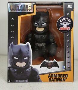 JADA DC COMICS BATMAN VS SUPERMAN ARMORED BATMAN METALS DIE CAST FIGURE M8