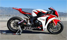 Fit Honda 08-11 CBR1000RR  HRC Fairings Kit Bodywork Plastic Red White color New