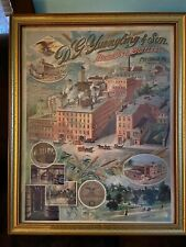 Yuengling ~ Pottsville, old chromo litho Original , 1st Litho w/Eagle 1902 ?