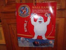 "NEW - Rudolph The Red Nose Reindeer - Poseable 20"" BUMBLE Wall Hanger"