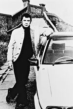 Lewis Collins Full Length Posing With Ford Capri The Professionals 11x17 Poster