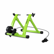 Bicycle Trainer Stand 6 Levels Resistance Gym Exercise Wheel Magnetic, Green