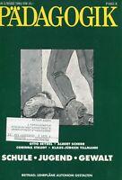 Diversos - Pädagogik Folleto 3/94 -schule, Juvenil, Gewalt #B2010355