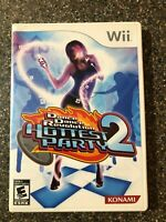 Dance Dance Revolution Hottest Party 2 - Nintendo Wii - Complete Clean & Tested