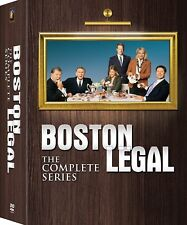 Boston Legal Complete TV Series Season 1-5 (1 2 3 4 5) NEW 28-DISC US DVD SET