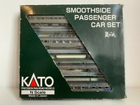 Kato 106-1105 N Gauge Southern Pacific Smoothside Passenger Car Boxed Set