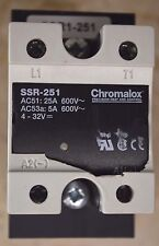 Chromalox SSR-251 PCN 305744 Solid State Power Controller Relay