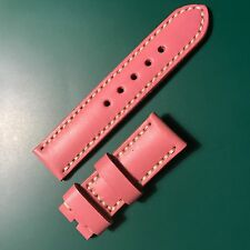 Cinturino pelle vitello 24 mm Panerai strap calf pink rosa lady donna woman