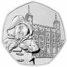 Paddington at the Tower 50 pence coin 2019