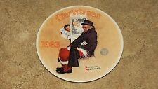 Norman Rockwell - Collector Plate - Santa In The Subway - 1983 - # B19151