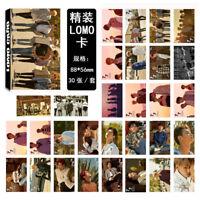 30pcs/set KPOP GOT7 Album [7 for 7] Poster Photo Card Lomo Card