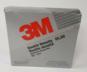 """3M 5.25"""" 500KB DS DD Double Sided Double Density Floppy Disk 5 1/4 inch OPEN BOX"""