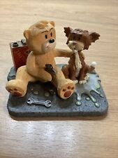 More details for bad taste bears figurine rare pussy collection how do you make a cat go woof