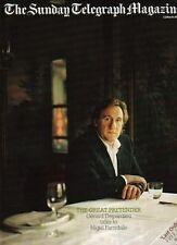 Gerard Depardieu on Magazine Cover 2005