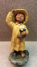 Vintage Martha Holcombe All God'S Children Kacie Raincoat Figurine