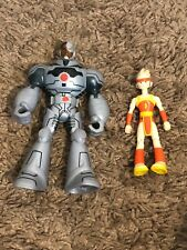 Teen Titans Cyborg And Lightning Action Figures Justice League