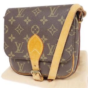 LOUIS VUITTON Mini Cartouchiere Shoulder Bag Monogram Leather BN M51254 84AC455