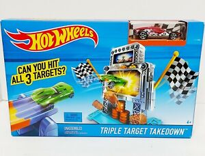 Hot Wheels Triple Target Takedown NEW Sealed HotWheels Track Set