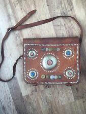 Handmade Moroccan Leather Boho Bag Satchel