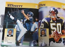 John Carney Darren Bennett Signed 1997 Official Chargers Football Team Yearbook