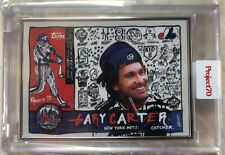 Topps Project70® Card 95 - 1960 Gary Carter by Gregory Siff - Artist Proof 43/51