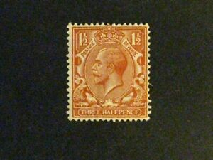 Great Britain #161b mint hinged orange brown a198.9388