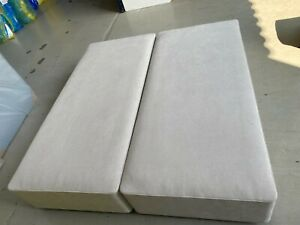 Hypnos SPRUNG FIRM EDGE Base no storage 6ft super king 180x200 STONE RRP £1410