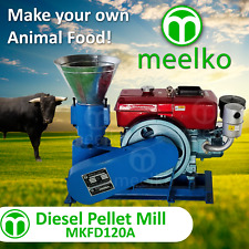 DIESEL PELLET MILL FOR BULL FOOD - MKFD120A (FREE SHIPPING)