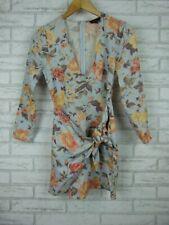 Majorelle Mini dress V-neck 7/8 sleeve length Sz XS, 8