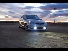 White Fog Lamp Angel Eye Driving Halo Lights & Harness 2003 2004 Toyota Matrix