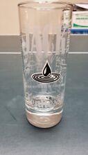 JACK DANIELS TALL NARROW WHISKEY GLASS