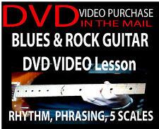 Beginner Rock Guitar Lesson DVD Rock & Blues Pentatonic Scale for Guitarists