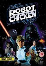 STAR WARS ROBOT CHICKEN ADULT SWIM GEORGE LUCAS REVOLVER UK REG 2 DVD NEW SEALED