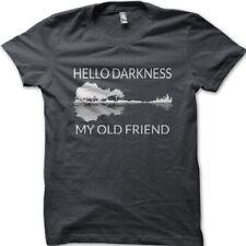 Hello Darkness my Old Friend GUITAR Takemine Gibson birthday t-shirt 9112