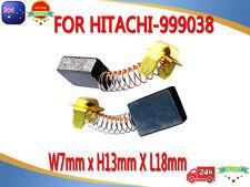 """Carbon Brushes For Hitachi SB-110Belt BLU-4 PSM-7 TR12 1/2""""3HP Plunge Router RL2"""