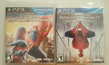 The Amazing Spider-Man 1 & 2 SET PACK LOT -  PS3 - BRAND NEW AND FACTORY SEALED