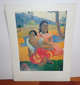Vintage Novel Ties Artist Gauguin 1994