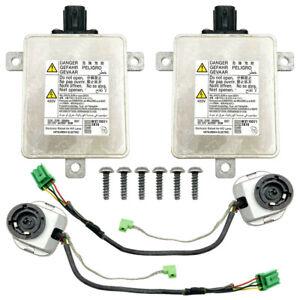 2x OEM For 07-14 Acura TSX Xenon Lamp Ballast HID Bulb Igniter Kit Inverter Unit