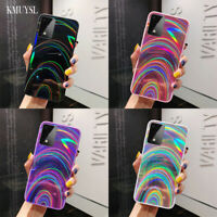 Rainbow Mirror Case For Samsung Galaxy A10 A21S A51 A71 41 Shockproof Hard Cover