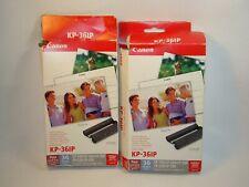 Canon KP-36IP Color Ink Cassette / Photo Paper Set 36 Sheets New