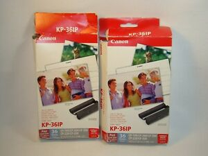 Canon KP-36IP Color Ink Cassette / Photo Paper Set 36 Sheets New
