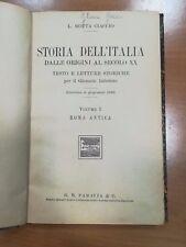 STORIA DELL'ITALIA DALLE ORIGINI AL SECOLO XX CIACCIO PARAVIA 1936